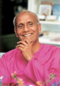 Sri Chinmoy smiling
